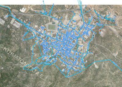 Δ.Ε.Υ.Α Αγίου Νικολάου – Ανάπτυξη λογισμικού γεωργαφικού πληροφοριακού συστήματος (GIS) για το δίκτυο ύδρευσης Νεάπολης
