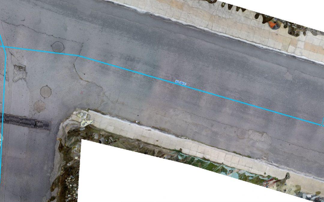 Δημιουργία ψηφιακού υπόβαθρου του οδικού δικτύου της Νεάπολης Λαθισίου