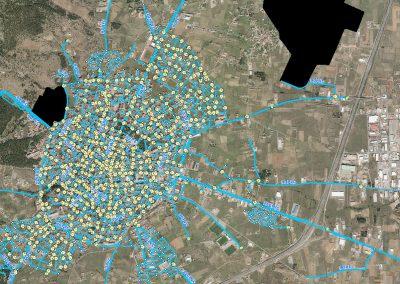 Δ.Ε.Υ.Α Τρίπολης – Αποτύπωση και χαρτογράφηση του δικτύου ύδρευσης της Δ.Κ Τρίπολης με τη χρήση γεωραντάρ, GNSS δεκτών και γεωγραφικών πληροφοριακών συστημάτων GIS