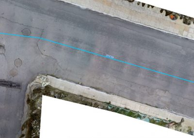 Digital background creation of the road network in Neapoli Lasithi.