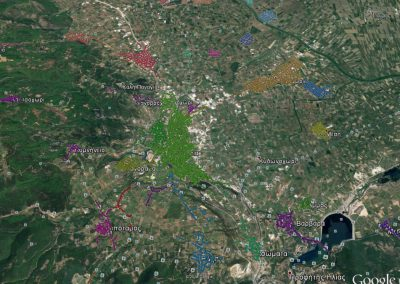 Municipality of Veria- Geospatial road network depiction and street-lighting depiction of the Municipality of Veria as well as Master plan street-lighting implementation.