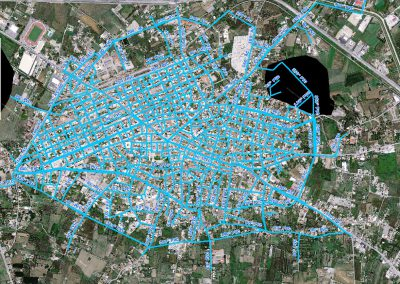 Pyrgos' water supply and sewerage Company- Depiction and digitization of the Pyrgos' water supply network using Georadar.