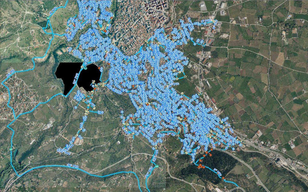Ψηφιοποίηση δικτύων ύδρευσης πόλης Βέροιας