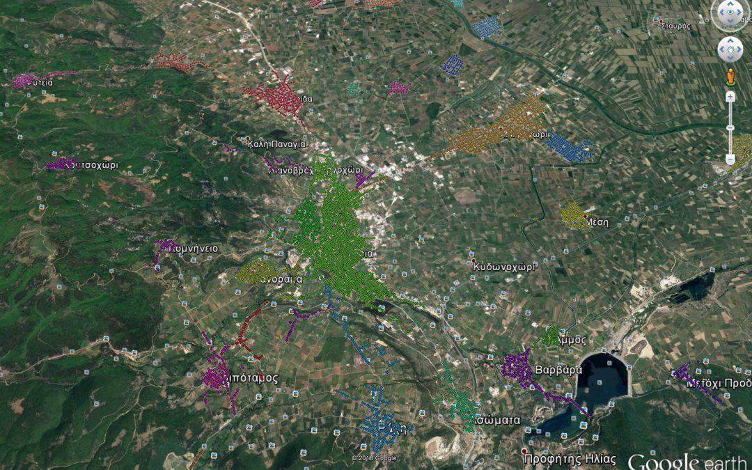 Δήμος Βέροιας – Γεωχωρική αποτύπωση δικτύου οδικού και αστικού φωτισμού δήμου Βέροιας καθώς και υλοποίηση Masterplan οδοφωτισμού