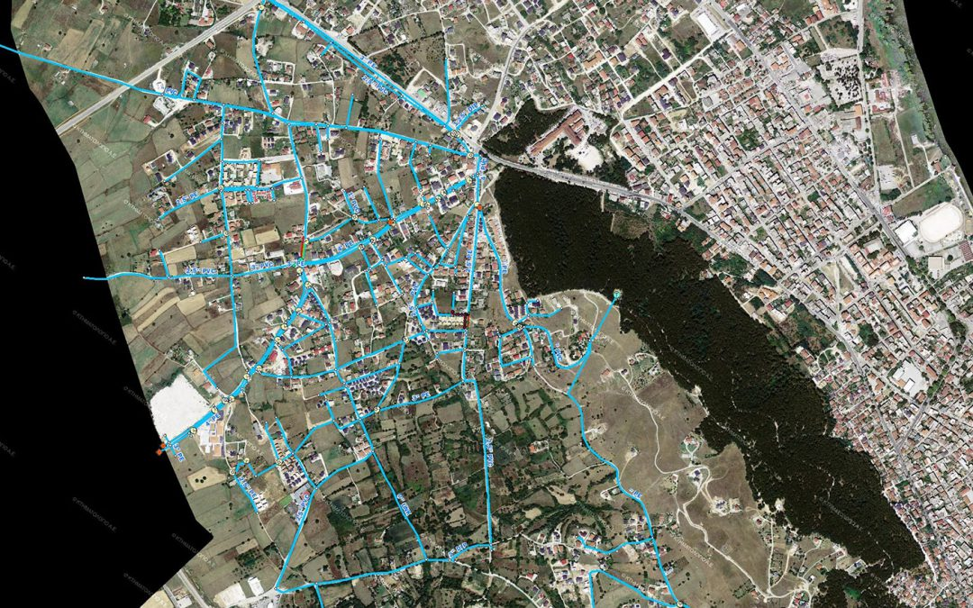 Ioannina's water supply and sewerage company- Detection and depiction of the water supply network handled by the company using GNSS receivers (GPS) and Georadars in the area of Kardamitsia.